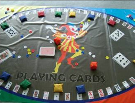 Playing Card Game Mat