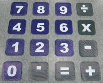 Key Pads of Calculator