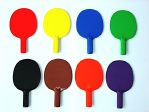 Plastic Ping Pong Paddle