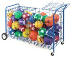 Oversize Lockable Ball Cart