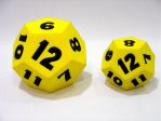 12 Sides Foam Dice