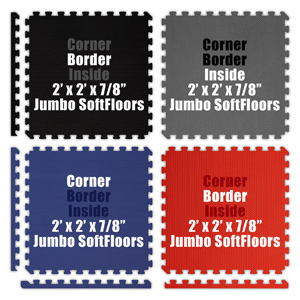 Corners and Borders for Puzzle Mats