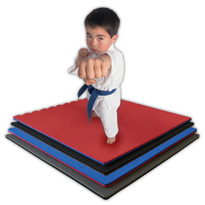 Karate Kid on Puzzle Mats