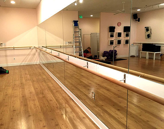 Free Shipping For Ballet Barre Wall Mounted Barre With