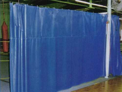 Gym Curtain Divider