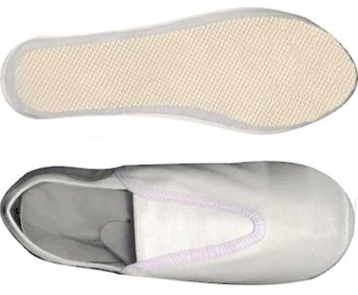 canvas gymnastic shoes