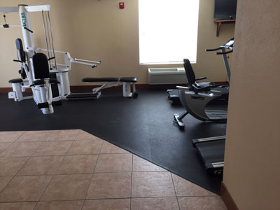 Buy rubber weight room flooring for commercial or home use gyms