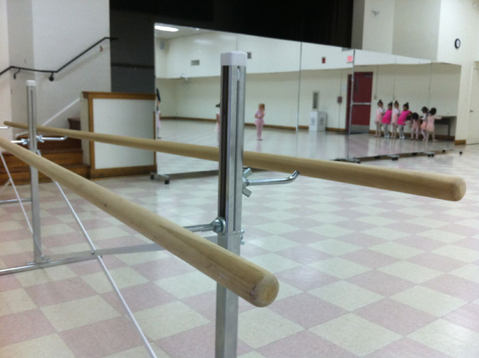 Free Shipping for Ballet Bars, Wall Mounted or Portable Free ...