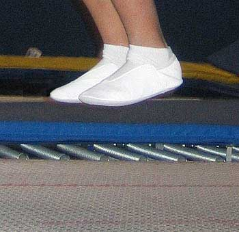 White Trampoline Shoes