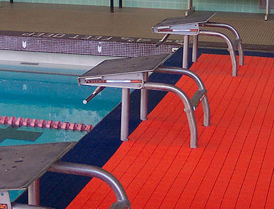 swimming pool plastic tiles