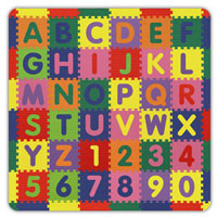 Foam Puzzle Mat ABC