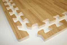 Puzzle Mat:  Light Oak