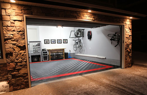 Garage flooring and patio floors with ten color options