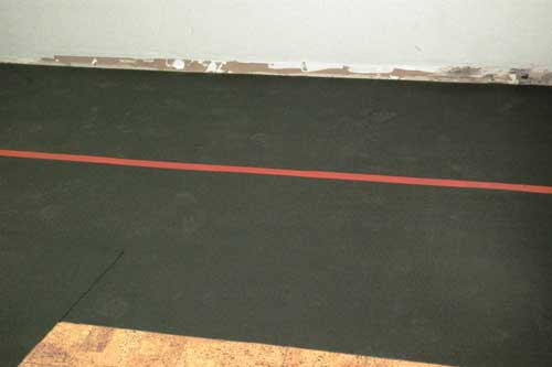 Us Made Rubber Underlayment And Foam Underlay In Roll