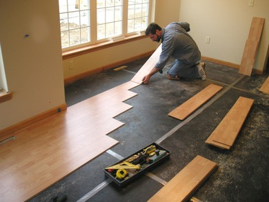 Us made rubber underlayment subfloor and foam underlay in for Rubber hardwood flooring