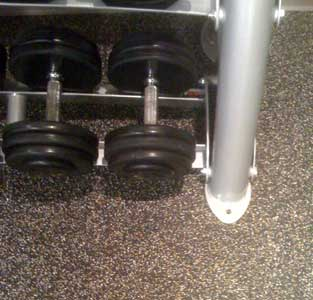 Weightroom Floor