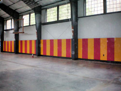 Buy Wall Pads For Basketball Courts Round Or Square Post
