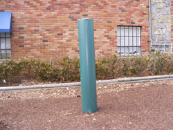 "10"" diameter post pad"